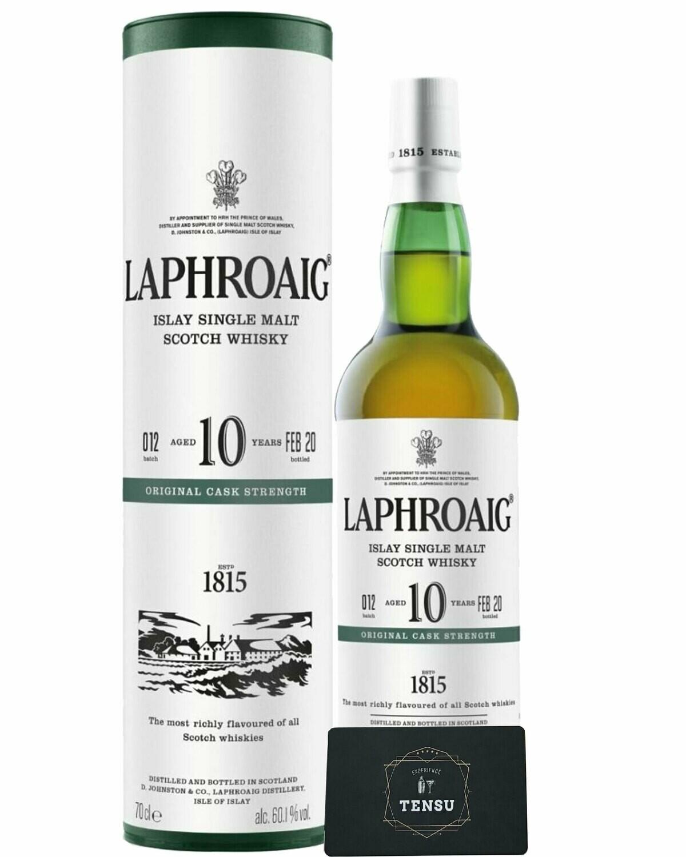 "Laphroaig 10 Years Old (2010-2020) ""Cask Strength"" Batch 012"
