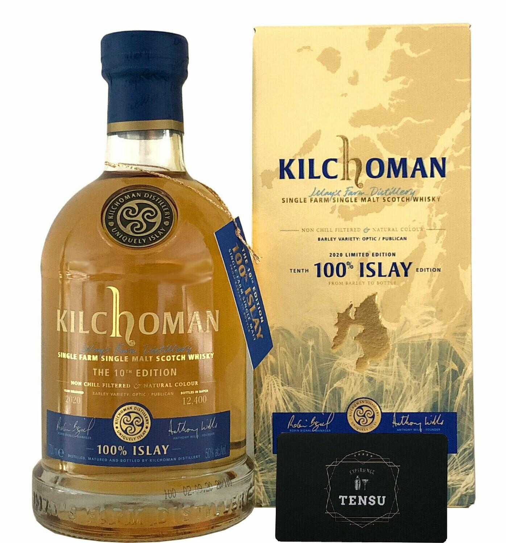"""Kilchoman 100% Islay """"10th Edition"""" (2020)"""
