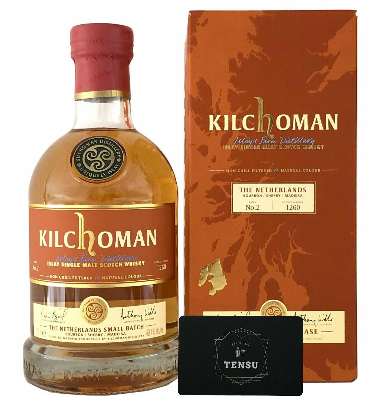 "Kilchoman Small Batch No. 2 The Netherlands (2020) 49.4 ""Bourbon/Sherry/Madeira"""