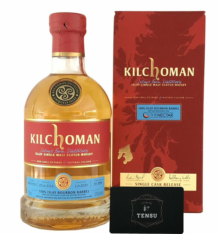 "Kilchoman 7Y 100% BB SC (2013-2020) 53.0 ""For The Nectar"""