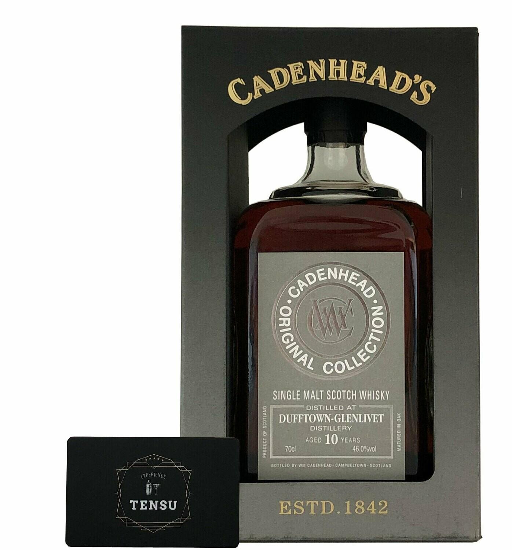 "Dufftown-Glenlivet 10Y Original Collection (2020) 46.0 ""Cadenhead's"""