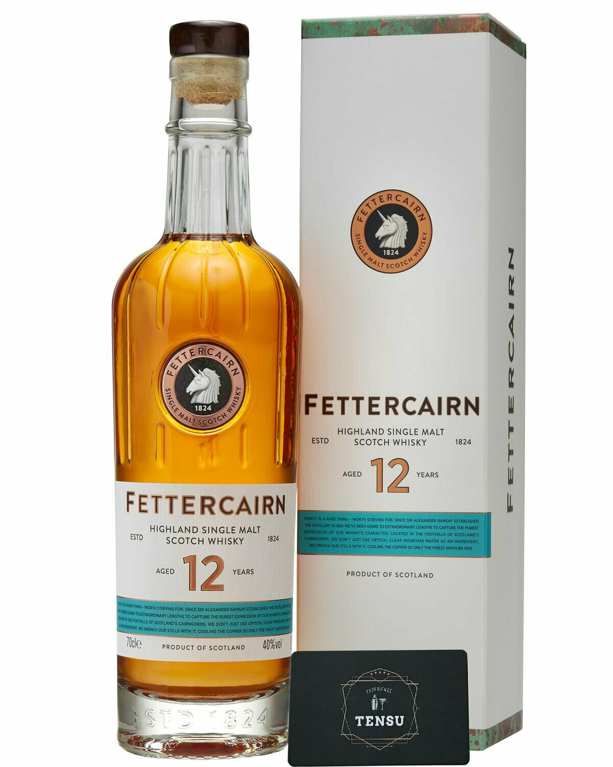 Fettercairn 12 Years Old (2020) 40.0