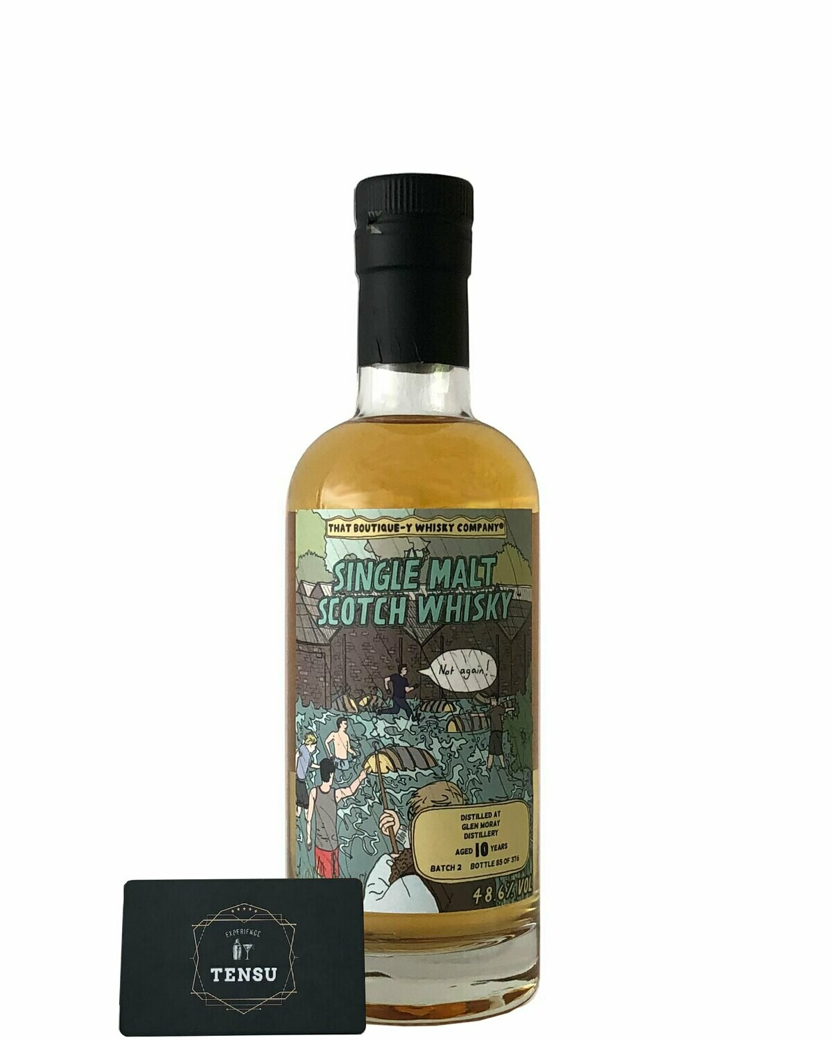 """Glen Moray 10 Years Old (Batch 2) 48.6 """"That Boutique-Y Whisky Company"""""""