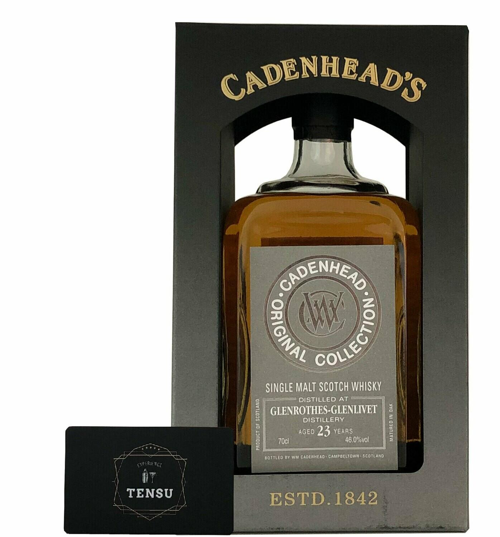 """Glenrothes-Glenlivet 23Y Original Collection (2020) 46.0 """"Cadenhead's"""""""