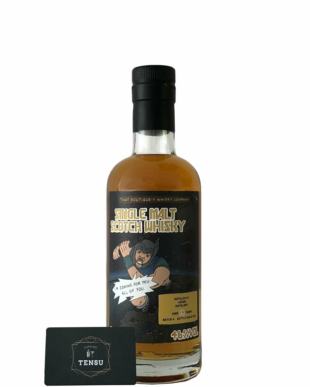 """Ledaig 19Y (Batch 4) 46.0 """"That Boutique-Y Whisky Company"""""""