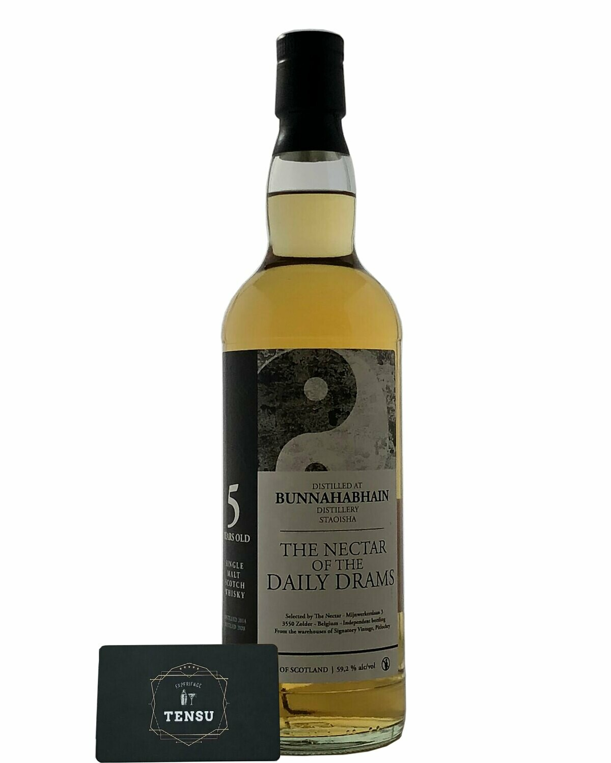 "Bunnahabhain Staoisha 5Y (2014-2020) - Daily Drams 59.2 ""The Nectar"""