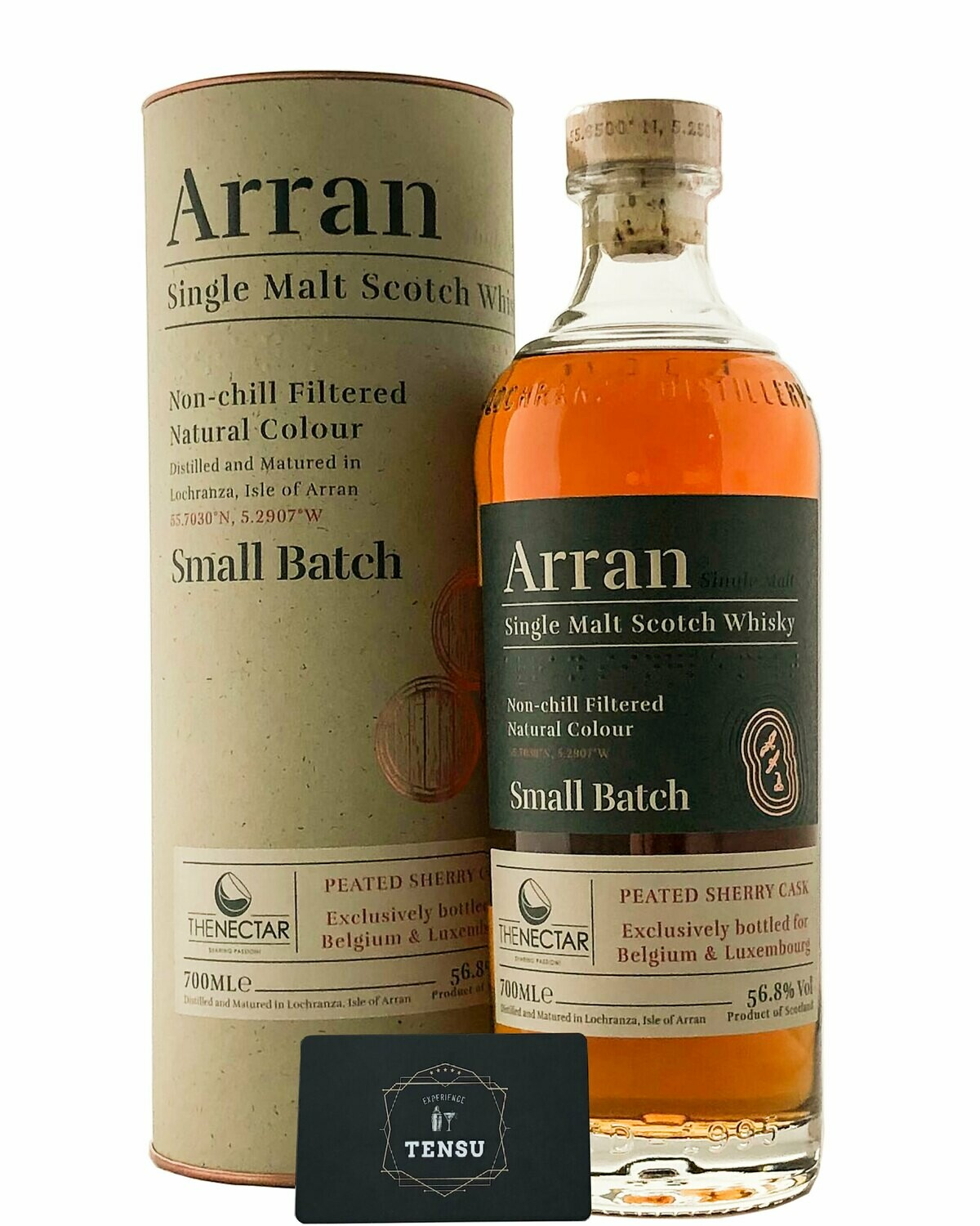 Arran Peated Sherry Cask - Small Batch (Belgium & Luxembourg) 56.8 FTN