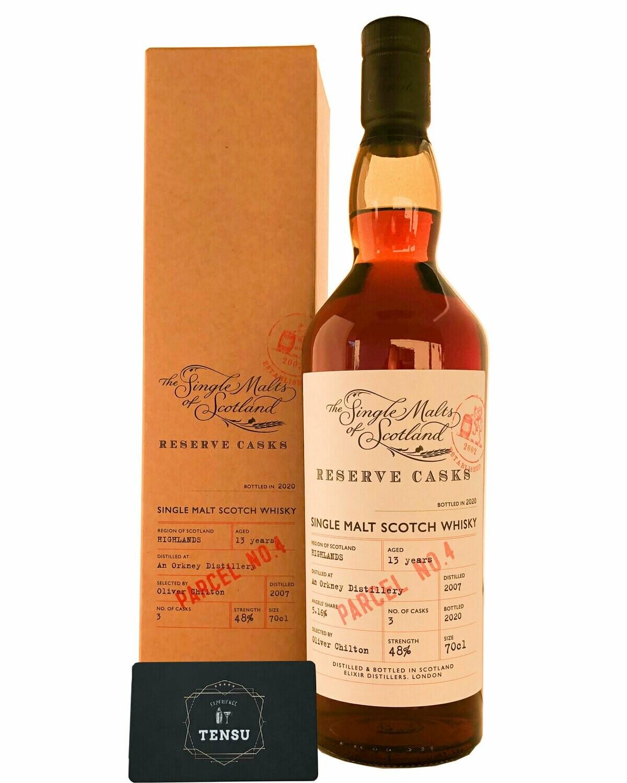 "An Orkney Distillery 13 Years Old (2007-2020) 48.0 ""Elixir Distillers"""