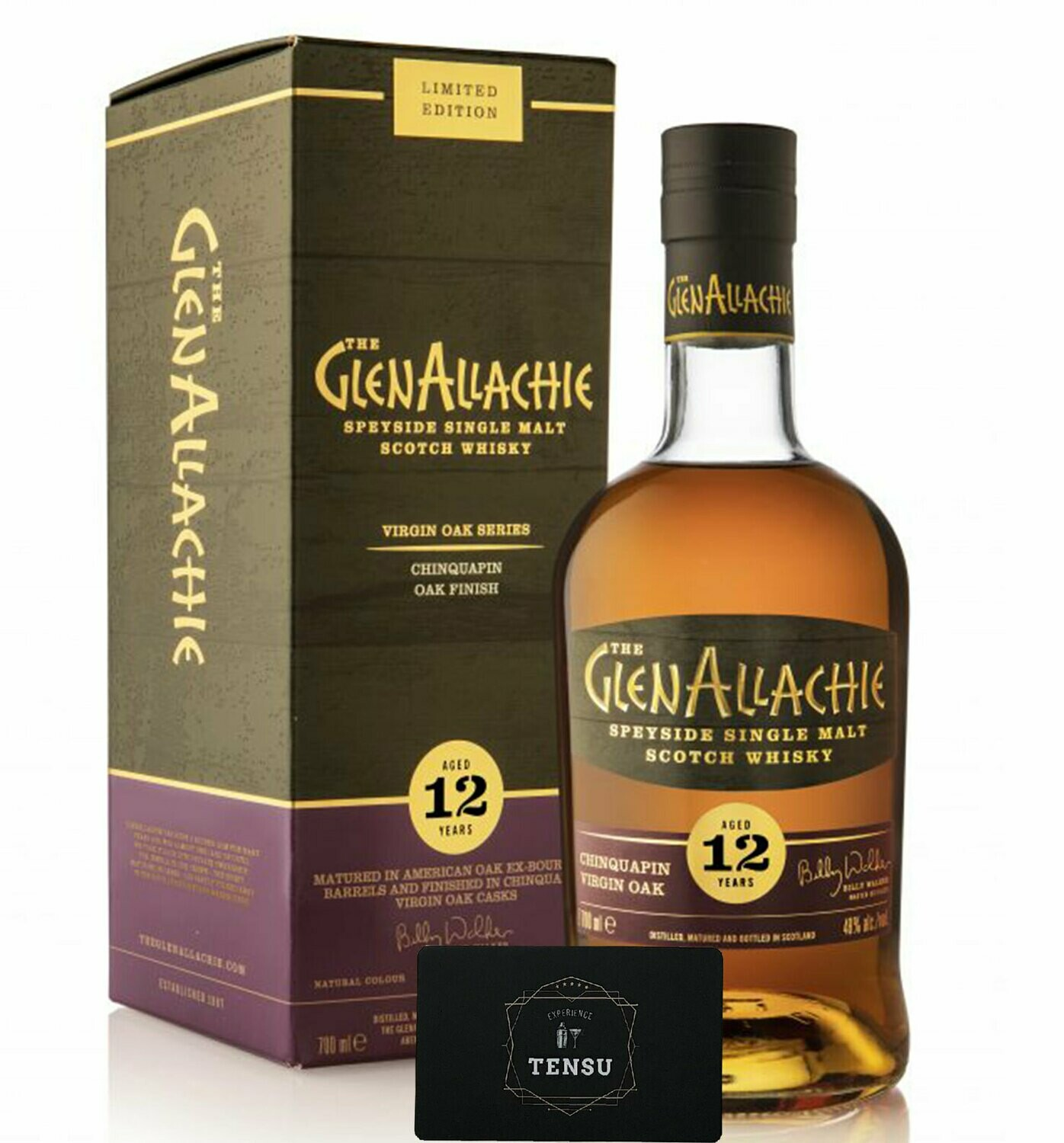 GlenAllachie 12 Years Old (Chinquapin Virgin Oak) 48.0 OB