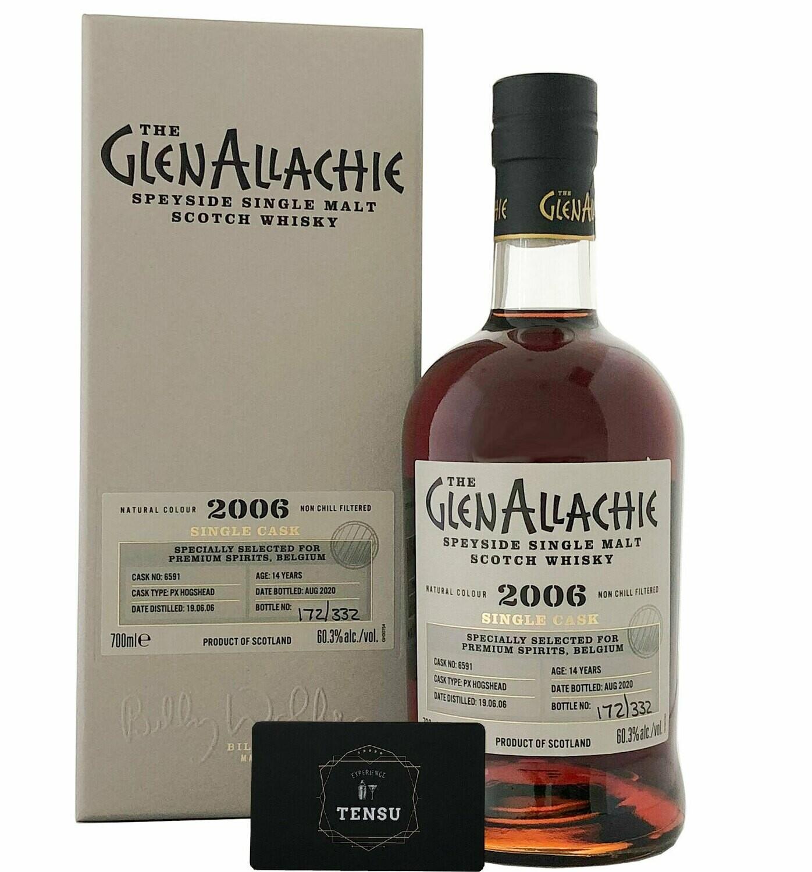"""GlenAllachie 14 Years Old (2006-2020) 60.3 """"Premium Spirits"""""""