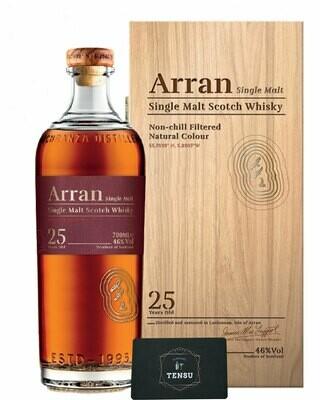 Arran 25 Years Old (1995-2020) 46.0 OB