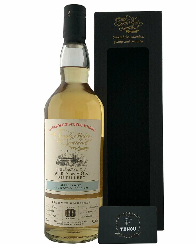 """Aird Mhòr/Ardmore 10 Years Old (2009-2020) 57.8 """"Elixir Distillers"""""""
