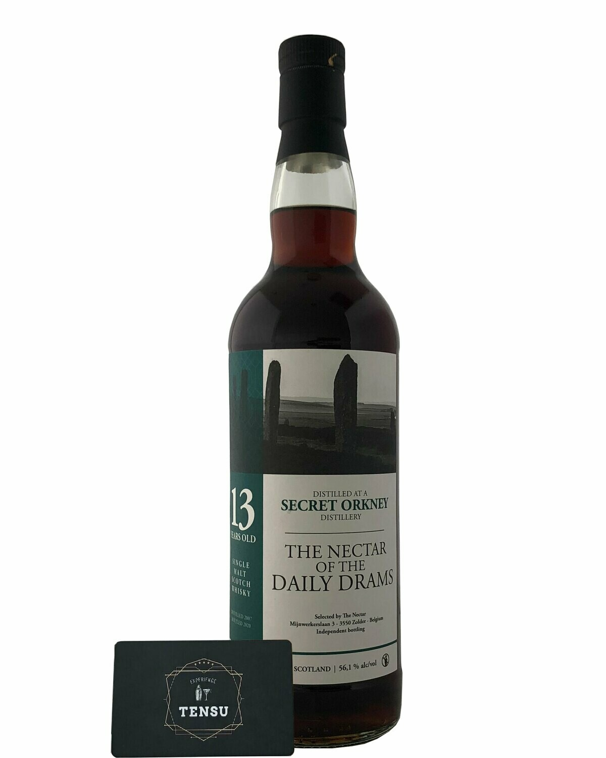 """Secret Orkney 13 Years Old (2007-2020) - Daily Drams 56.1 """"The Nectar"""""""