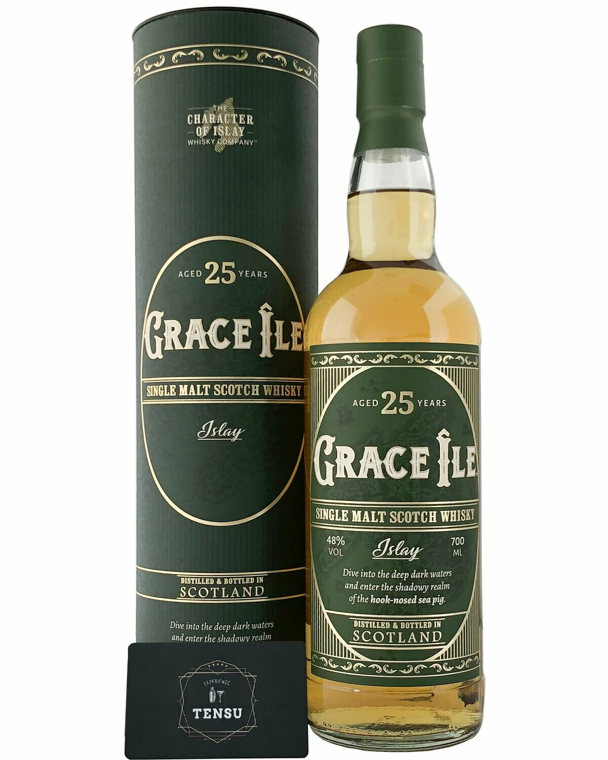 """Grace Ile 25 Years Old (2020) 48.0 """"The Character of Islay"""""""