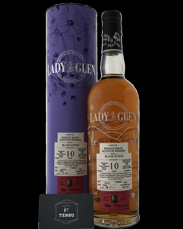 """Blair Athol 10Y (2010-2020) 55.8 """"Lady of the Glen"""""""