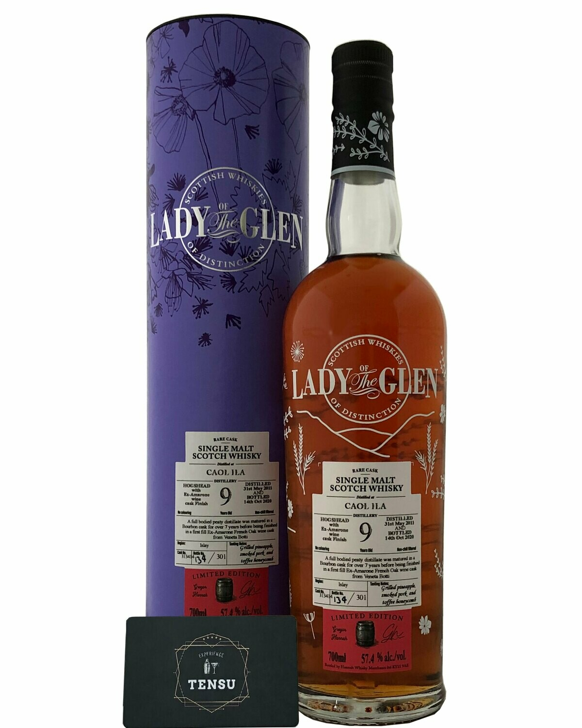 """Caol Ila 9 Years Old (2011-2020) 57.4 """"Lady of the Glen"""""""