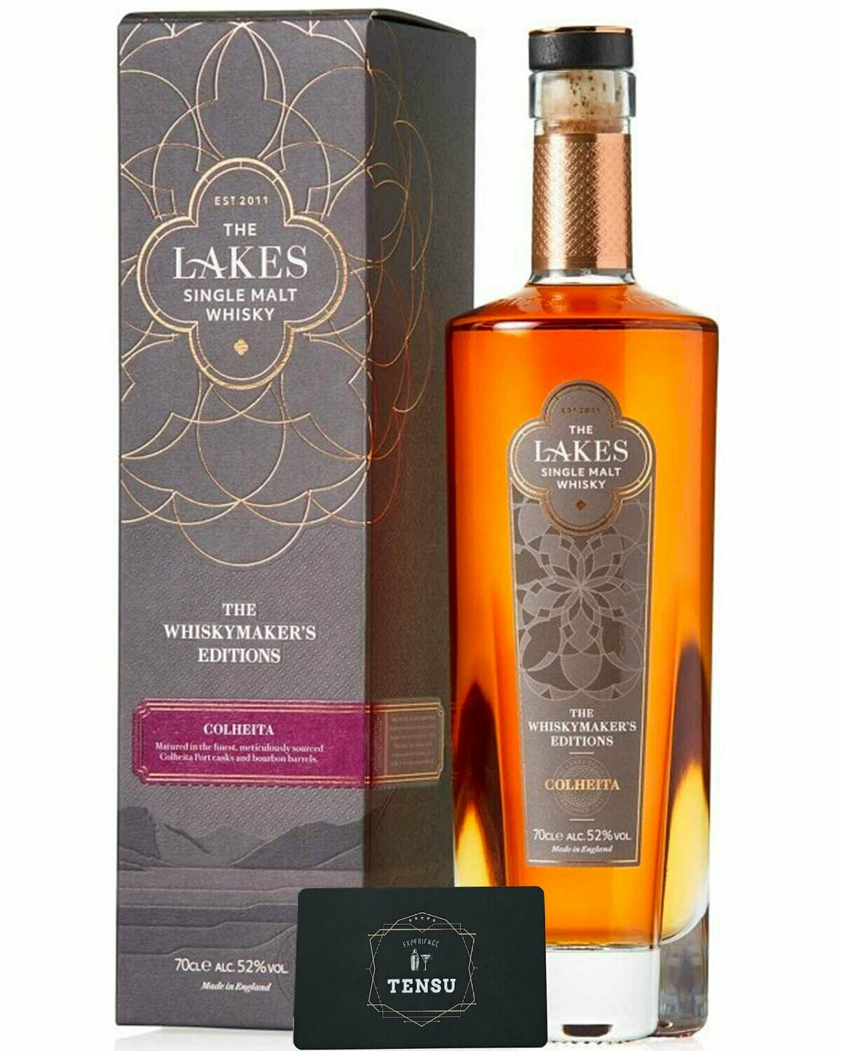 """The Lakes - The Whiskymaker's Editions - Colheita 52.0 """"The Lakes Distillery"""""""