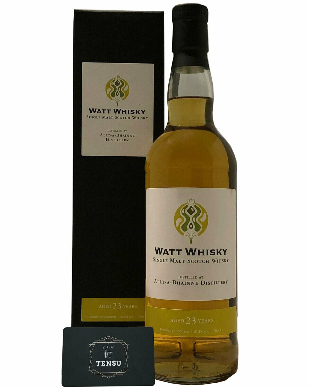 "Allt-A-Bhainne 23Y (1997-2020) SC 51.3 ""Watt Whisky"""