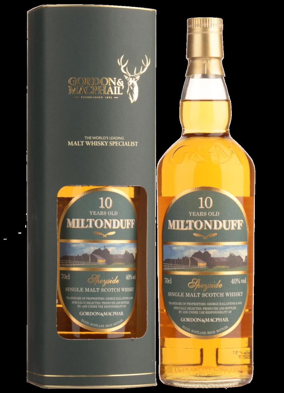 """Miltonduff 10 YO (2016) 40.0 """"Gordon & MacPhail"""" [SAMPLE 2CL]"""