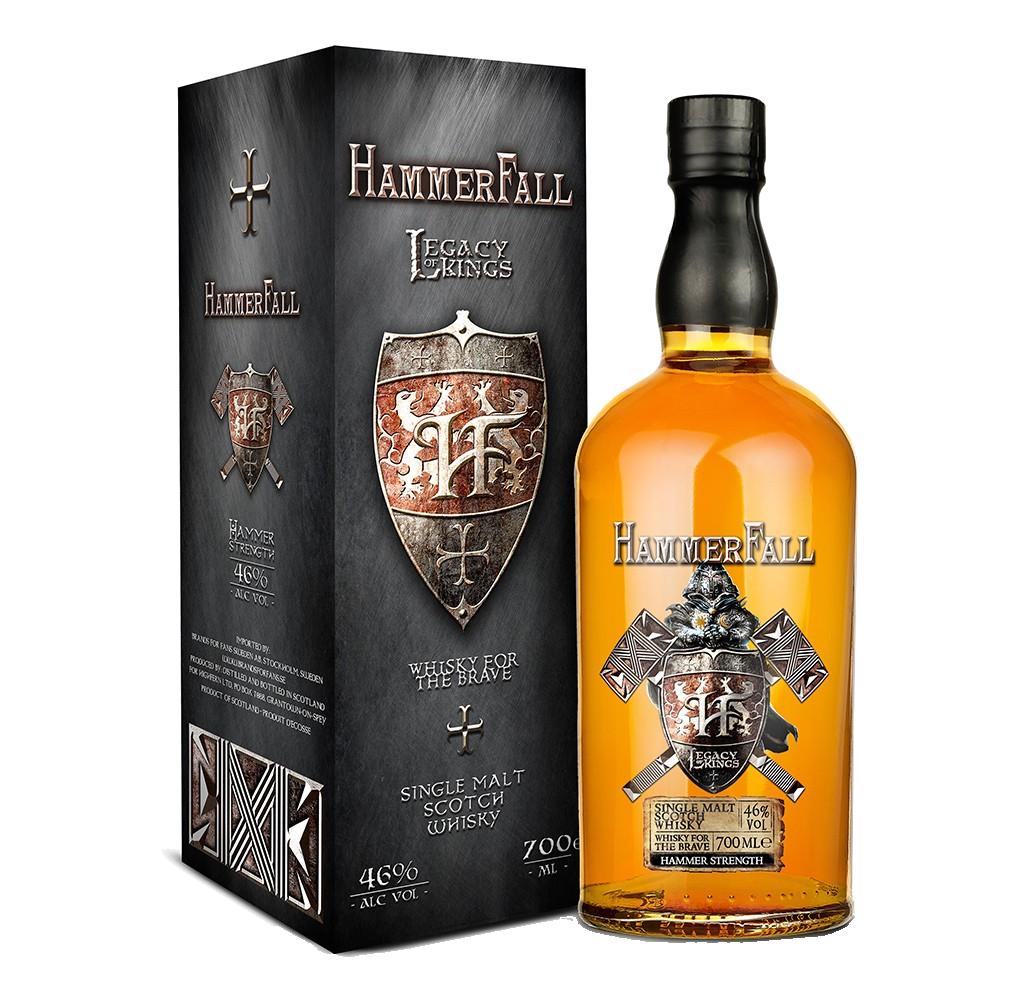 """Hammerfall - Legacy of Kings, Hammer Strength"""" [SAMPLE 2CL]"""