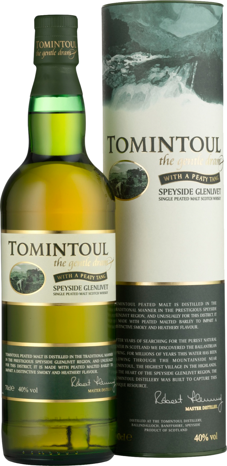 Tomintoul Peaty Tang 40.0 [SAMPLE 2CL]