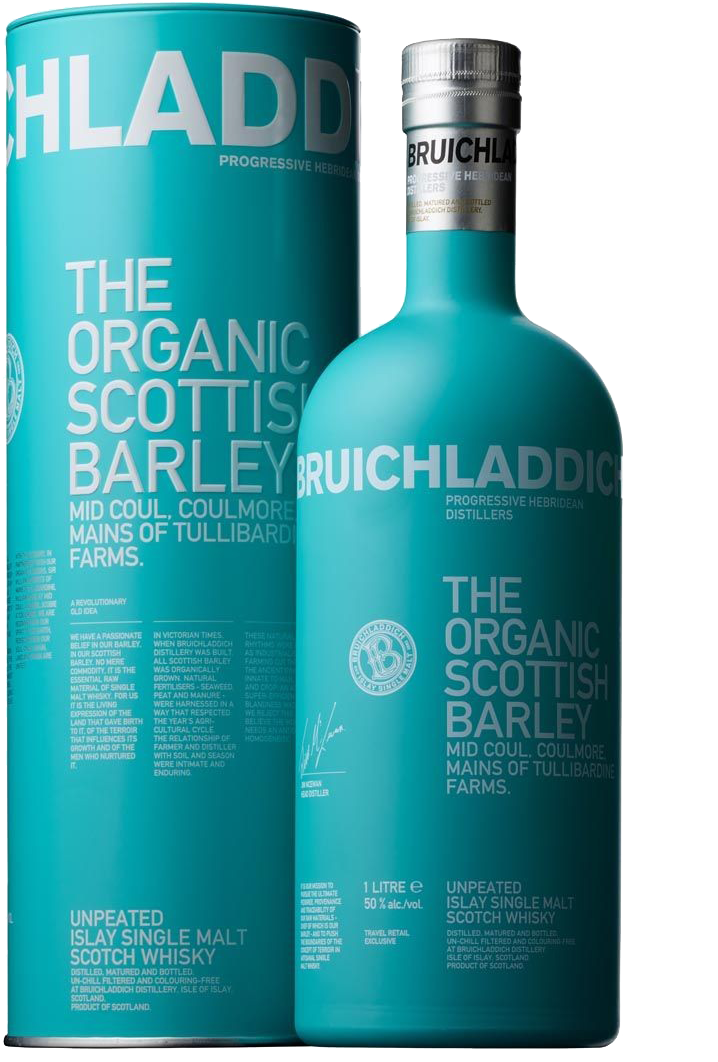 Bruichladdich Organic Scottish Barley (2014) [SAMPLE 2CL]