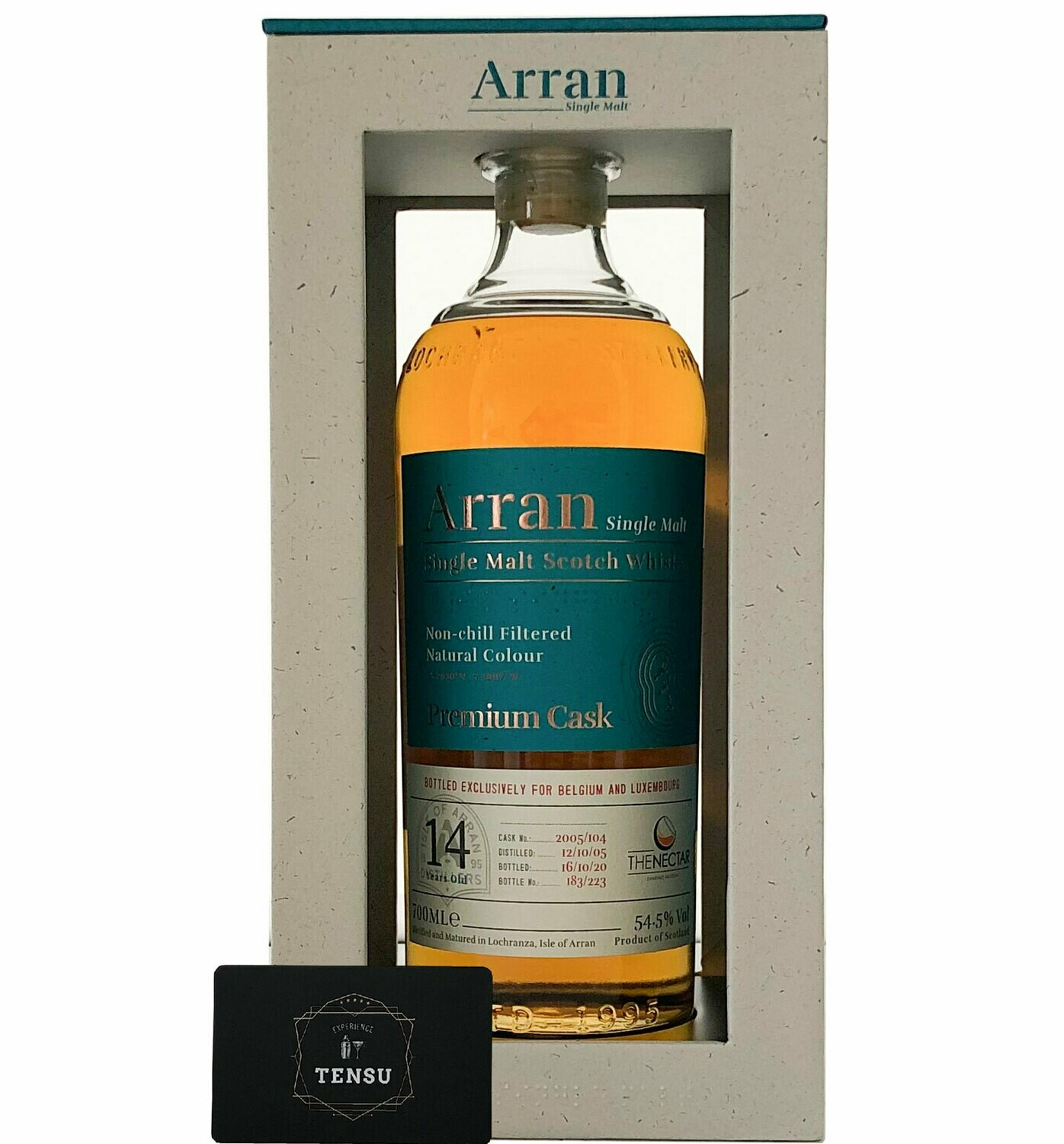 """Arran 15 Years Old (2005-2020) 54.5 """"For the Nectar"""""""
