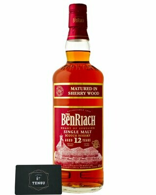 """BenRiach 12 Years Old Sherry Wood 46.0% """"OB"""" [SAMPLE 3CL]"""