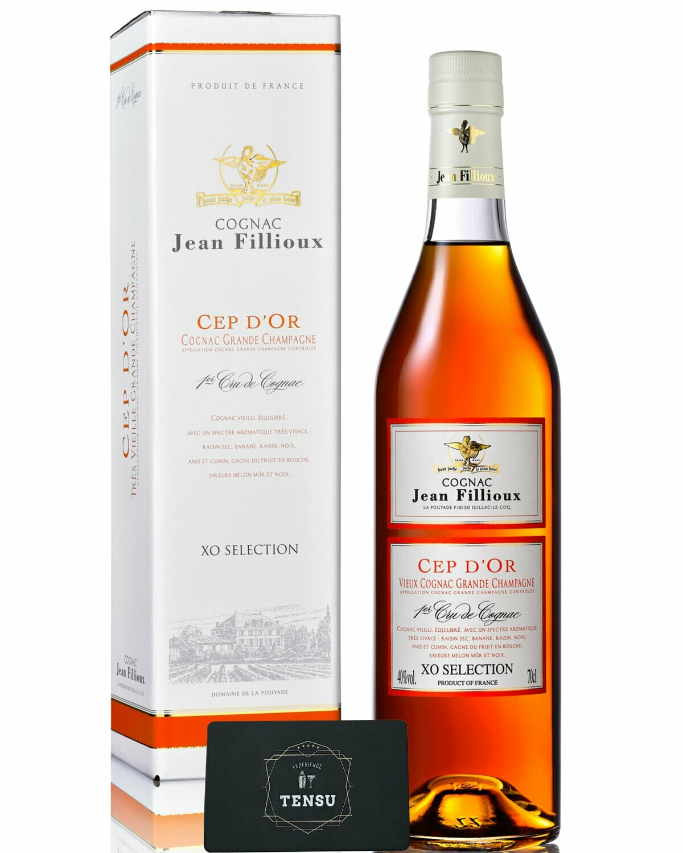 Cognac Jean Fillioux Cep d'Or - XO Selection 40.0 OB