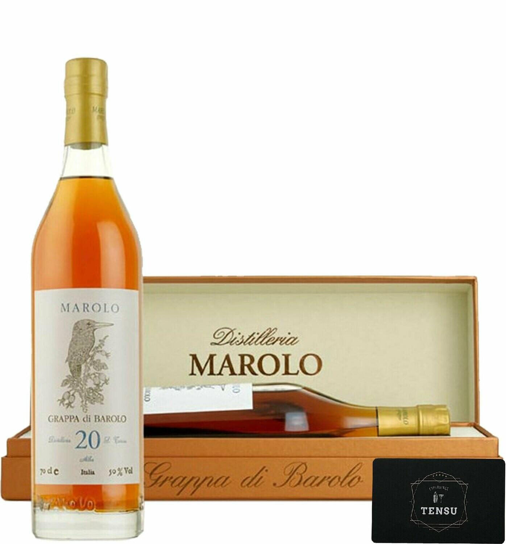 Grappa Marolo di Barolo 20 Anni (1996-2016) 50.0 OB