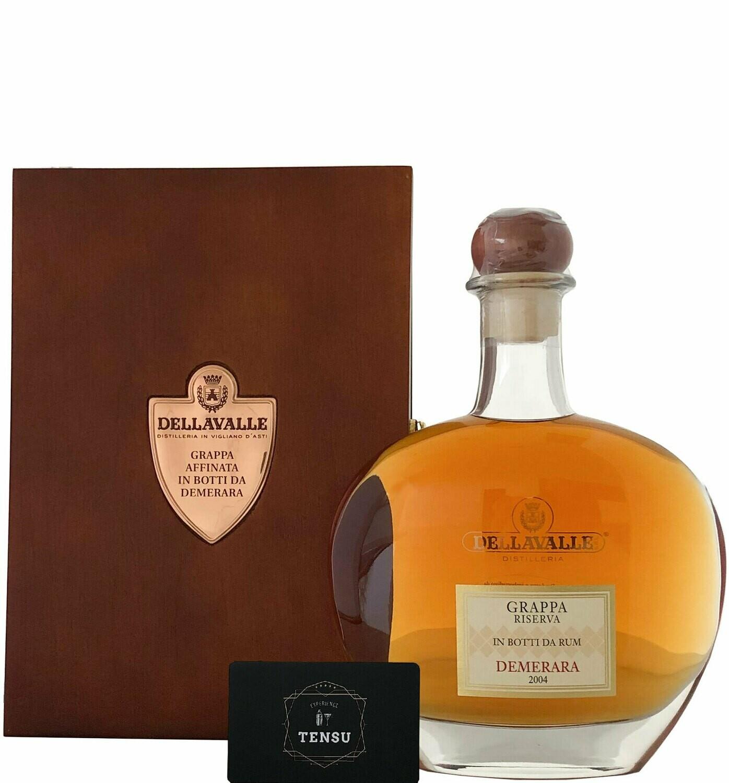 Dellavalle Grappa Affinata Demerara Rum (2004) 42.0 OB