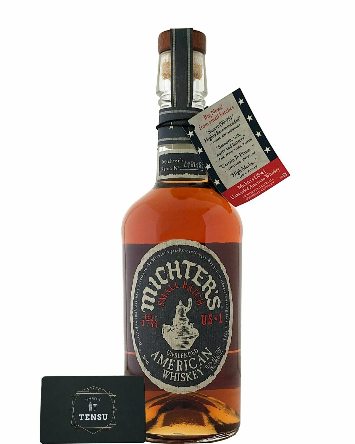 Michter's US1 Small Batch Unblended American Whiskey 41,7% OB
