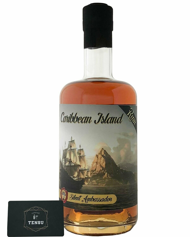 "Caribbean Island Rum - Dominican Vs Martinique (Batch 1) 43.7 ""Silent Ambassador"" [SAMPLE 2CL]"