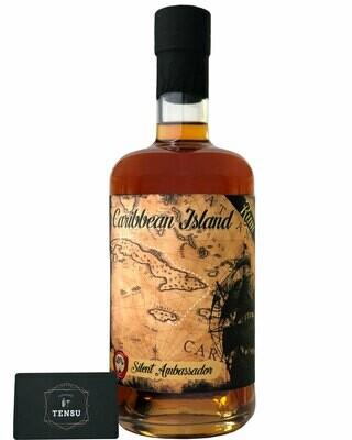 "Caribbean Island Rum (Batch CJ1) 40.0 ""Silent Ambassador"""