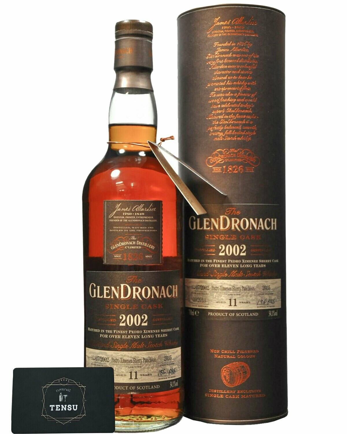 GlenDronach 11Y (2002-2013) 54.1 OB [SAMPLE 2CL]