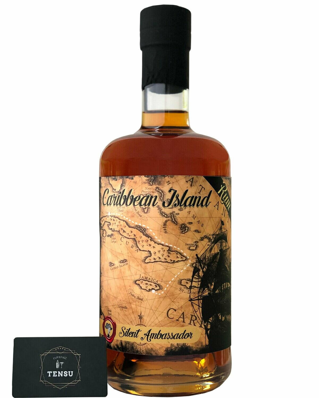 "Caribbean Island Rum (Batch CJ1) 40.0 ""Silent Ambassador"" [SAMPLE 2CL]"