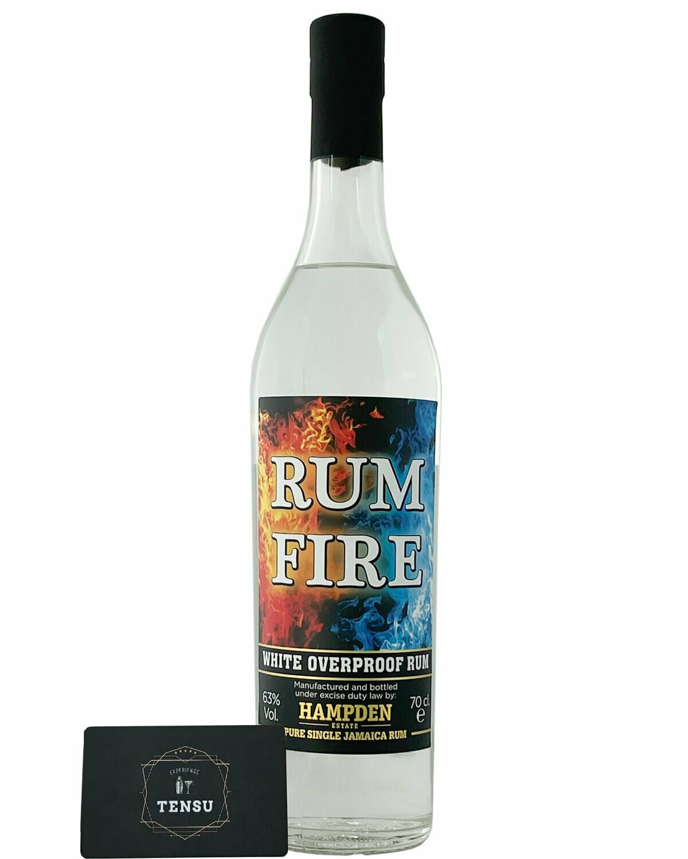 "Hampden Fire White Overproof Rum ""La Maison & Velier"""