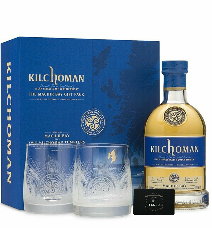 Kilchoman Machir Bay [Giftpack + 2 Tumblers]
