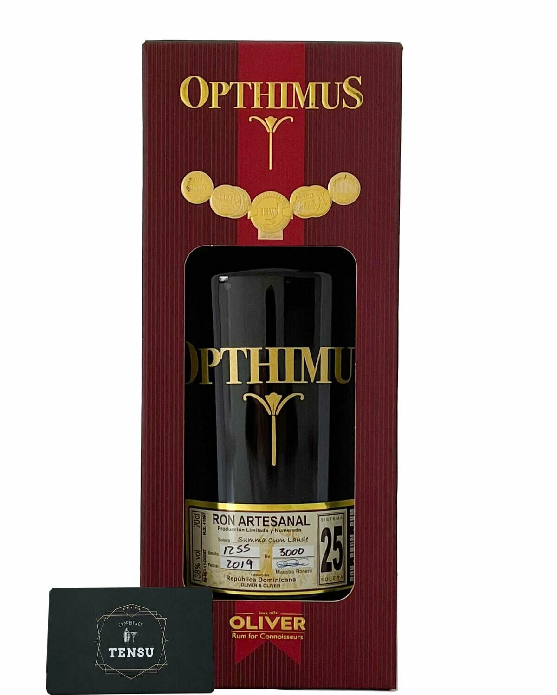 """Opthimus 25 Años Solera """"Bourbon & Tempranillo Cask"""" 38.0 OYO"""