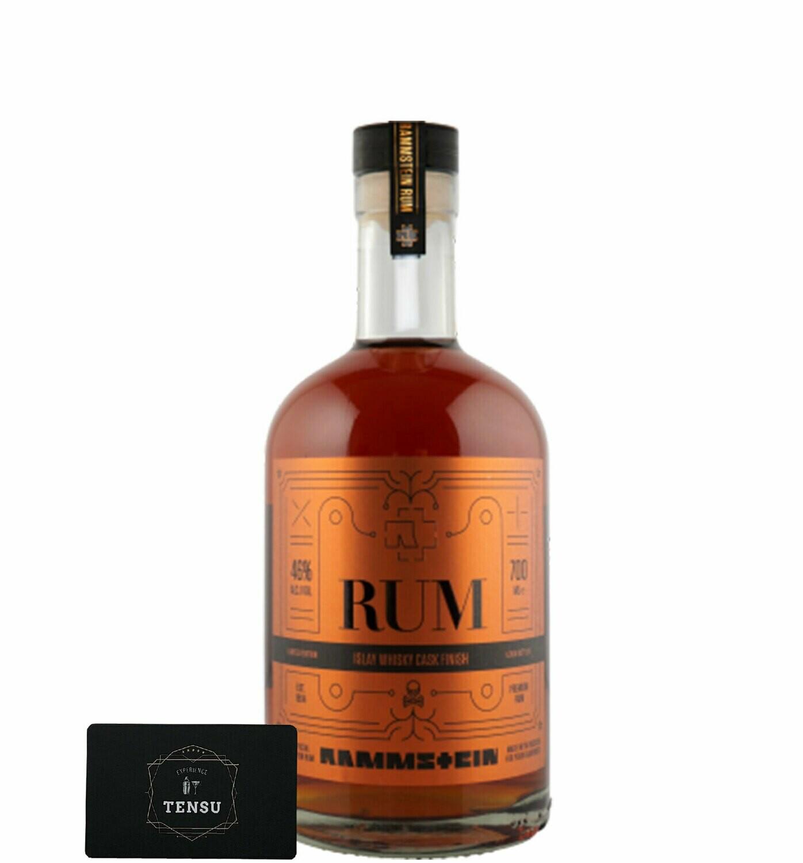"Rammstein Rum - Islay Cask Finish ""Limited Edition"" 46.0 OB"