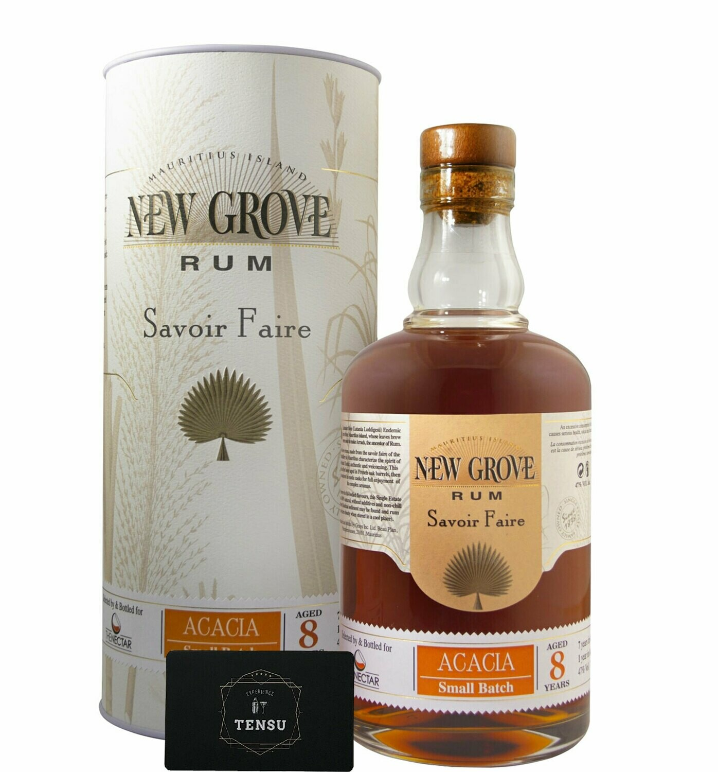 """New Grove (Acacia) 8Y Small Batch 47.0 OB """"For The Nectar"""""""