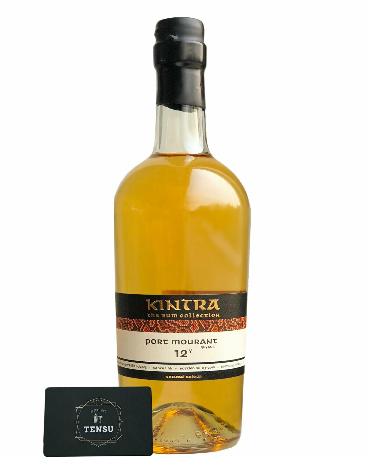 """Port Mourant 12 Years Old Guyana Rum (2005-2018) 55.9 """"Kintra"""""""
