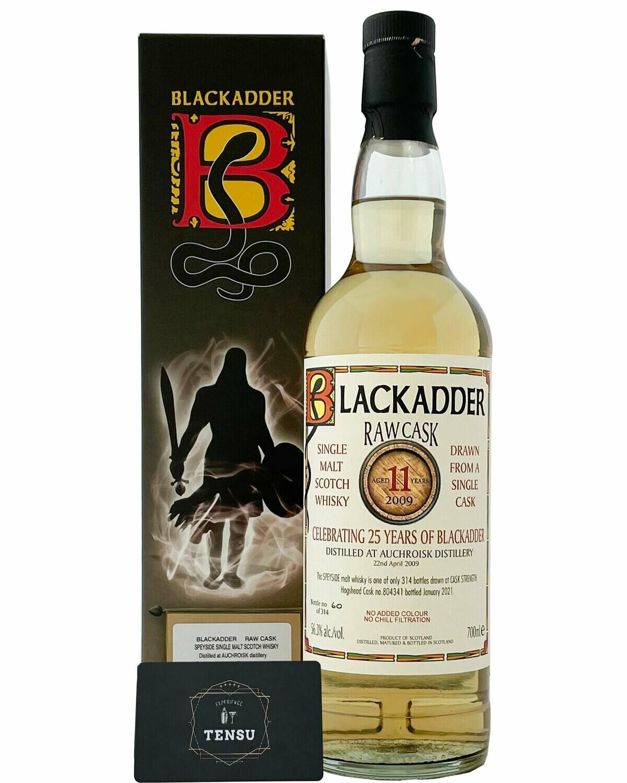 "Auchroisk 11YO RAW CASK (2009-2021) 56.3 ""Blackadder"""