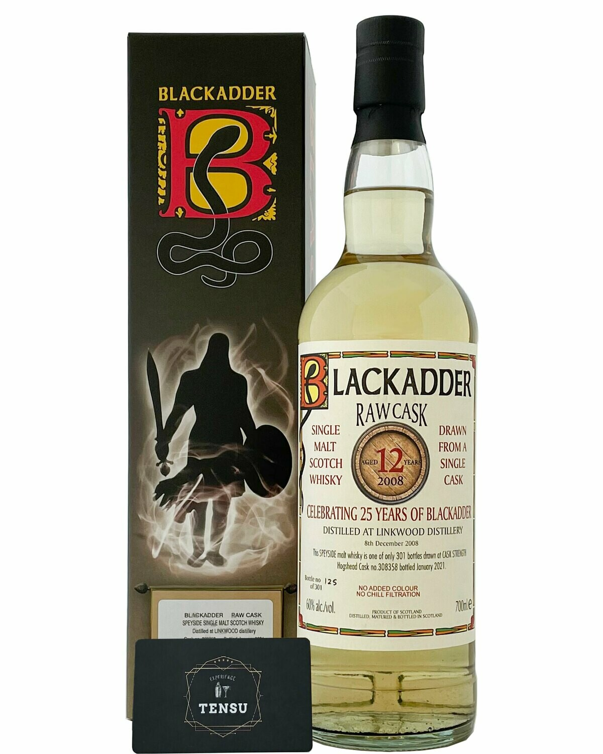 "Linkwood 12YO RAW CASK (2008-2021) 60.0 ""Blackadder"""