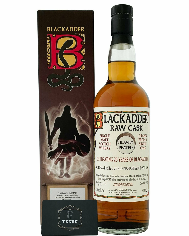 """Bunnahabhain Staoisha NAS RAW CASK (2020) 60.9 """"Blackadder"""""""