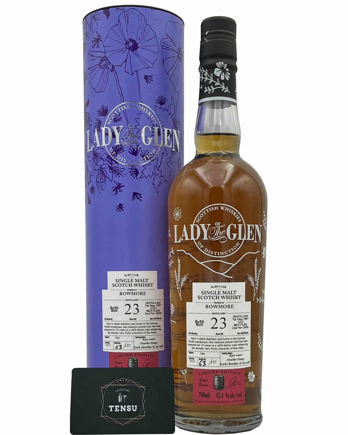 "Bowmore 23 Years Old (1997-2020) 42.4 ""Lady of the Glen"""