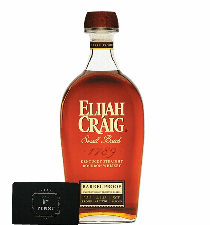 """Elijah Craig Small Batch Barrel Proof 61.1 """"OB"""""""