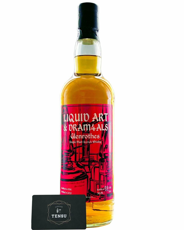 "Glenrothes 24 Years Old (1996-2020) ""Liquid Art & DRAM4ALS"""