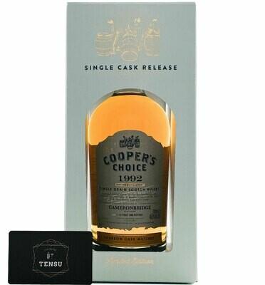"Cameronbridge 28 Years Old (1992-2021) Bourbon Cask 48.5 ""Cooper's Choice"""