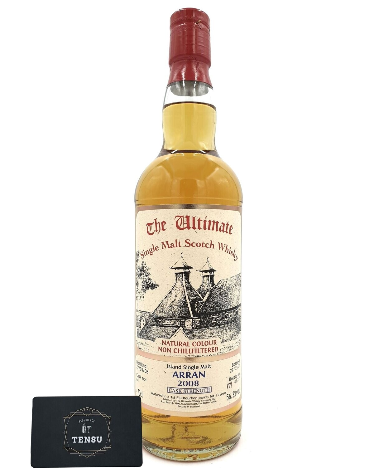 """Arran 13 Years Old (2008-2021) 56.3 CS """"The Ultimate"""""""